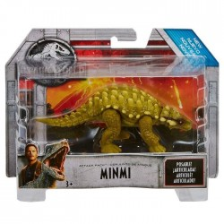 Figurina Jurassic World Attack Pack Minmi