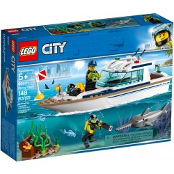 60221 - LEGO City Great Vehicles Iaht pentru scufundari