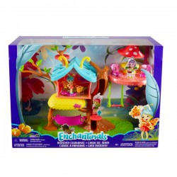 Set de joaca Mattel EnchanTimals Casuta Fluture