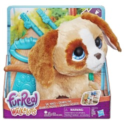 Jucarie Hasbro Interactiva Fur Real Friends Walkalot Catelus la plimbare