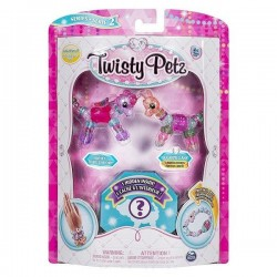 Set Twisty Petz - Pachet 3 figurine transformabile in bratari - Skylie Unicorn, Sugarpie Liana si figurina surpriza