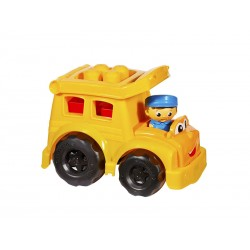 Jucarie Mega Bloks First Builders Sonny School Bus