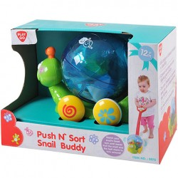 Jucarie de impins Playgo Push n'sort Snail Buddy