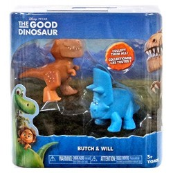 Set 2 figurine - The Good Dinosaur - Butch & Will