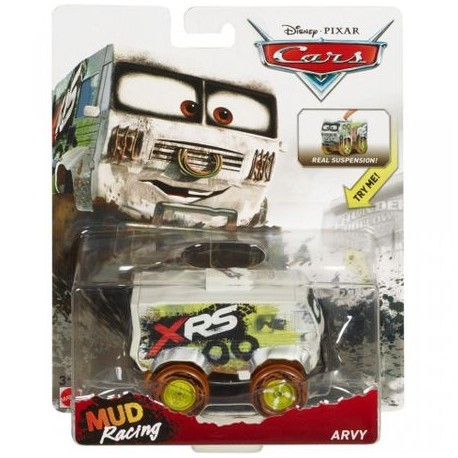 Masinuta Mattel Cars Mud Racing Bucsa Off Road XRS 1:55