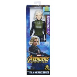 Figurina Avengers Infinity War Titan Hero Series - Black Widow, 30 cm