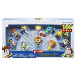 Set mini figurine Mattel de 10 bucăți Toy Story 4