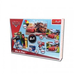Joc de societate Trefl Cars set de joaca 8 in 1
