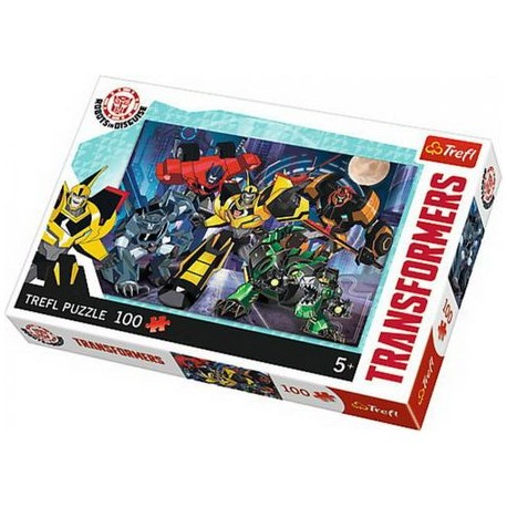 Puzzle 100 piese - Transformers
