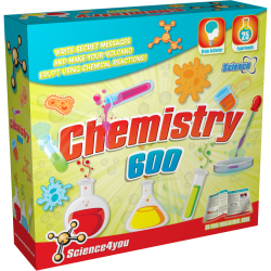 Joc educativ Science4you, Laboratorul de chimie, 25 experimente