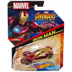 Masinuta Mattel Hot Wheels Marvel - Iron Man Mark 50