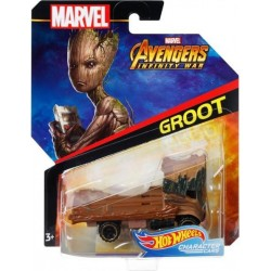 Masinuta Mattel Hot Wheels Marvel - Groot