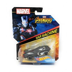 Masinuta Mattel Hot Wheels Marvel - War Machine