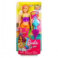Barbie calator - Sirena blonda