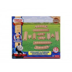 Set sine drepte si curbe Thomas&Friends Wooden Railway