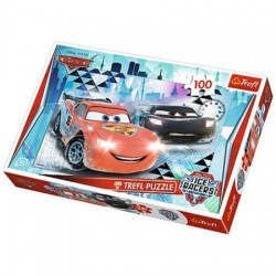 Puzzle Trefl Cars 2 Ice racers 100 piese