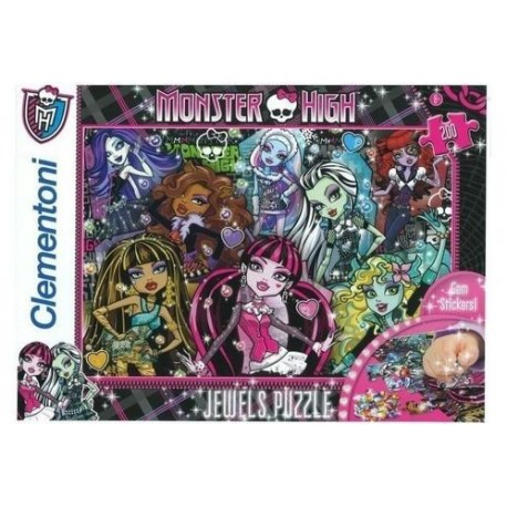 Puzzle 200 piese Biju - Monster High