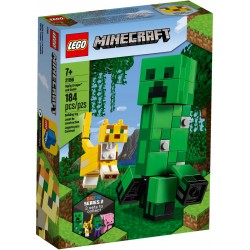 21156 - LEGO Minecraft - Creeper BigFig si Ocelot