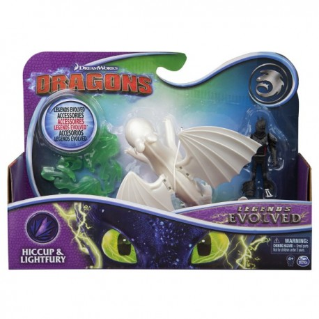 Set figurine Spinmaster Hookfang si Snotlout