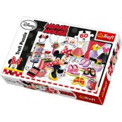Puzzle 60 piese - Minnie Mouse