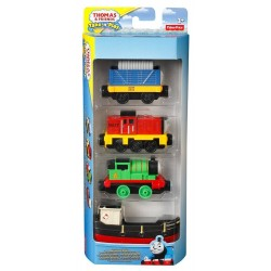 Fisher Price Set 4 vehicule Thomas & Friends Take N Play