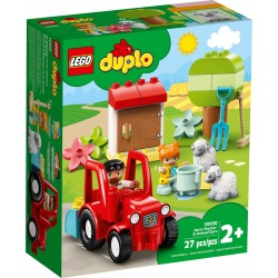 10950 - DUPLO Town - Tractor agricol si ingrijirea animalelor