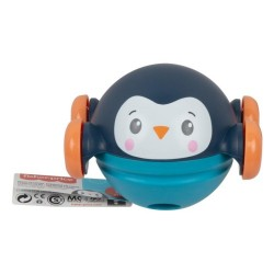 Jucarie interactiva Fisher-Price Roll, Pop & Zoom, Vulpe