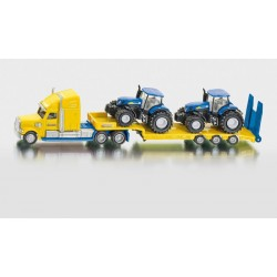 Truck with New Holland Tractors 1: 87