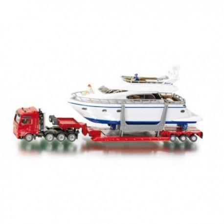 Heavy Haulage Transporter with Yacht 1:87