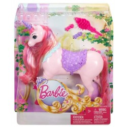 Unicorn Barbie Mattel roz