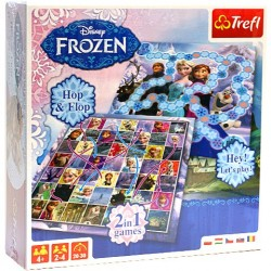 "Joc ""Frozen"" 2 in 1 (Hop & Flop + Hey! Let's Play!)"