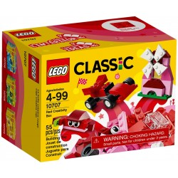 10707 - LEGO Classic Red Creativity Box