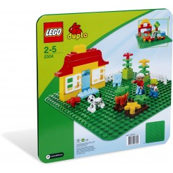 2304 - LEGO DUPLO Large Green Building Plate