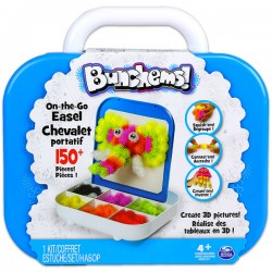 Bunchems! - On-the-Go - Easel Chevalet Portatif, 150+ buc.