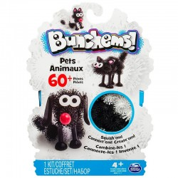 Bunchems! - Set creativ 60+ buc. - Pets Animaux