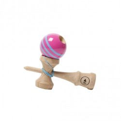 Kendama Play Pro 2K - triple stripe - Pink Laggon