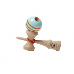 Kendama Play Pro 2K - triple stripe - Orange Clock