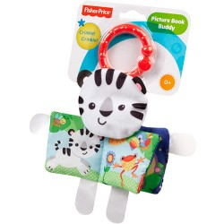 Carte moale bebe Tigru Fisher Price 25*20 cm