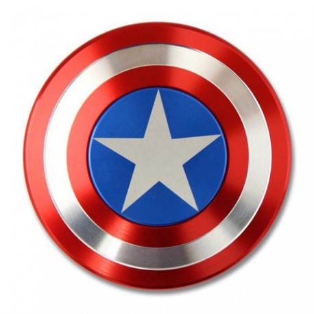 Fidget Spinner Metal - Captain's Shield (Captain America)