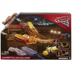 Disney Cars 3 Set de joacă Thunder Hollow Challenge Story Sets