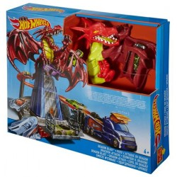 Pista Mattel Hot Wheels Dragon Blast Smash Showdown
