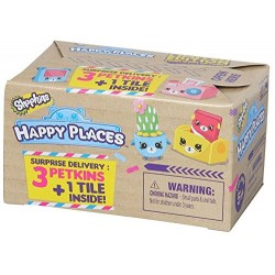 Shopkins Happy Places Pachet Surpriză 3+1