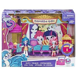 Minis Equestria Girls Movie Theater - Set de joacă Cinema