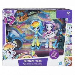 Set Tematic Equestria Girls - Rainbow Dash