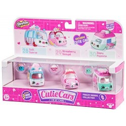 Shopkins Cutie Cars set 3 mașinuțe - Freezy Riders