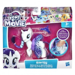Figurina Rarity cu rochita My Little Pony