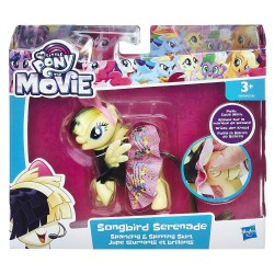 Figurina Songbird Serenade cu rochita My Little Pony