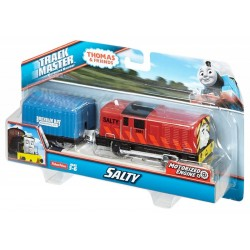 Locomotiva Salty cu vagon Thomas & Friends TrackMaster